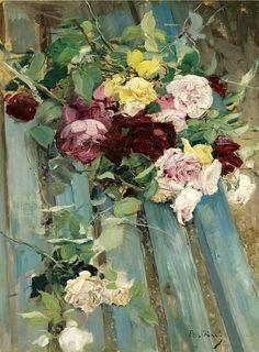 Boldini, Giovanni (1842-1931) - Still Life with Rose (Sothebys London, 2007)