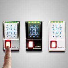 $783.47 | e-DATA 401ADU-SL Fingerprint Biometric Security Keyless Door Entry, Standalone Indoor Outdoor Professional Grade. Amazon: amzn.to/18hCXrn