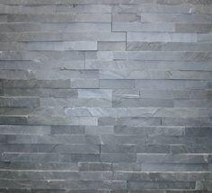 Klimex Plaquette de parement pierre naturelle noir