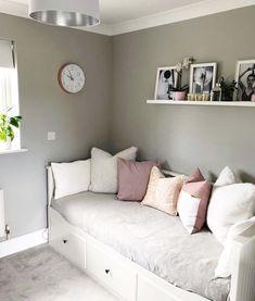 Box Room Bedroom Ideas, Room Design Bedroom, Small Room Bedroom, Bedroom Decor For Teen Girls, Box Room Ideas, Spare Room, Bedroom Bed, Bedroom Furniture, Bedrooms