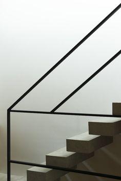 Frame House par Apollo Architects & Associates Escaliers