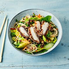 A quick and easy Sticky Asian Pork Belly Noodle Salad recipe, from our authentic Asian cuisine collection. Find brilliant recipe ideas and cooking tips at Gousto Asian Pork Belly, Asian Recipes, Healthy Recipes, Keto Recipes, Sticky Pork, Pork Noodles, Pork Salad, Pork Belly Recipes, Noodle Salad