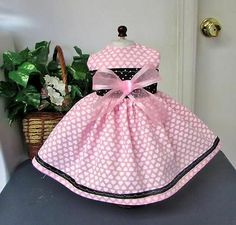 TINY  PINK  HEARTS   fit American Girl Doll Dress  Clothes