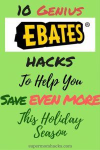 Already use Ebates to get cash back on everyday purchases? You could be missing out if you don't use these 10 genius hacks to help you save EVEN MORE!