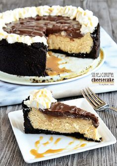 Caramel on Pinterest | Salted Caramels, Salted Caramel Cheesecake ...