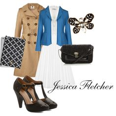 """Jessica Fletcher"" by gameofruth on Polyvore"