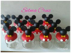 Fiesta Mickey Mouse, Mickey Mouse 1st Birthday, Mickey Mouse Parties, Baby Mickey, Mickey Mouse Clubhouse, Mickey Minnie Mouse, Clay Pot Crafts, Diy And Crafts, Crafts For Kids