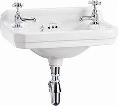 Litet handfat - Burlington Edwardian JR 51 cm - Gammaldags tvättställ