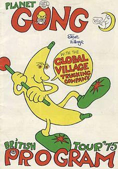 Gong tour programme 1975.