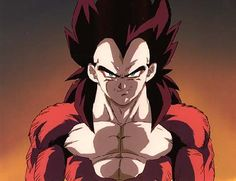 Vegeta SSJ4 Best smirk ever!