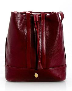Must de Cartier Genuine Leather Drawstring Shoulder Bag - Made in Spain, 8/10