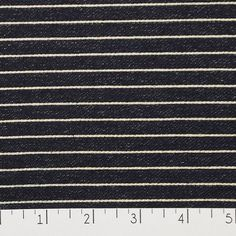 This striped knit would make a great knit skirt, top, or leggings. Just like your favorite pair of jeans, this fabric is prone to crocking, where the dye rubs off or bleeds, and is natural with indigo dyed fabrics.