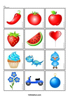 FREE printables for kids. Learn colors with 123 Kids Fun Apps. Colors sorting activities, colors puzzle game and more. Preschool Activities At Home, Preschool Colors, Toddler Learning Activities, Sorting Activities, Free Preschool, Color Activities, Autism Activities, Learning Games, Montessori Color