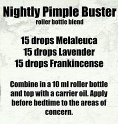 Nightly Pimple Buster
