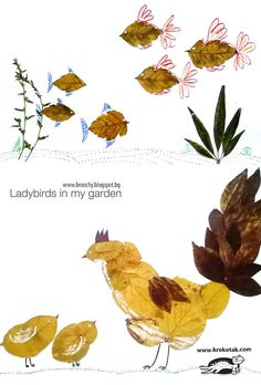 Leaf Collage Ideas