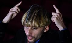 Rise of the cyborgs: 'I can feel events in Japan when I'm in New York' As a cyborg you can have colors beamed to your brain and wear earrings that sense what's behind you – and more and more people are getting involved...Neil Harbisson, who has an antenna with a camera at its end permanently implanted in his head that allows him to perceive colour as sound.