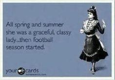 Until fantasy football season started..