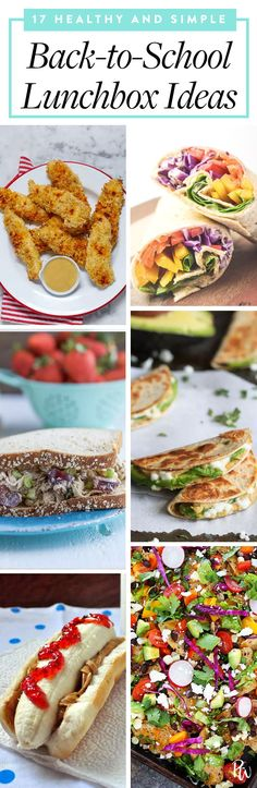 17 Healthy and Simple Back-to-School Lunchbox Ideas #purewow #healthy #lunch #salad #school #nutrition #food #chicken #vegetable #backtoschool #healthylunches #easylunches #backtoschool #lunchboxideas #schoollunches