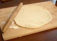 Massa de pizza sem glúten | Receita com farinha de arroz, fécula de batata e farinha de tapioca