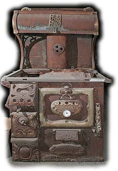 old wood cooking stoves | Antique Heaters and Stoves For Sale