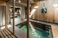 Indoor pool and sauna. Le Plateau-Mont-Royal. 2 895 000 $ CAD I Sotheby's International Realty Quebec #luxuryhomes #indoorpool #homeadverts