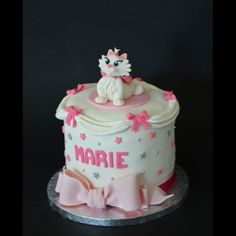 Marie Aristocats Cake ©Une Fille en Cuisine