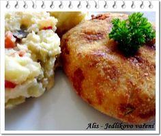 Jedlíkovo vaření: Bramborové karbanátky s tuňákem
