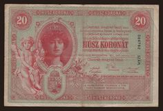 20 kronen, 1900