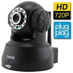 TENVIS HD Wireless security Camera IP Camera with Night Vision//Two-Way Audio