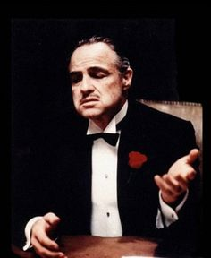 """favorite scene: """"I'm going to make him an offer he can't refuse.""""  The Godfather"""