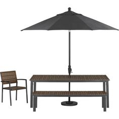 Rocha Dining Bench With Sunbrella® Charcoal Cushion In Outdoor Dining  Benches | Crate And Barrel