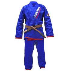 Traje Jiujitsu Gi Rude Boys GOLD Blue - €84.00  https://soloartesmarciales.com  #ArtesMarciales #Taekwondo #Karate #Judo #Hapkido #jiujitsu #BJJ #Boxeo #Aikido #Sambo #MMA #Ninjutsu #Protec #Adidas #Daedo #Mizuno #Rudeboys #KrAvMaga #Venum