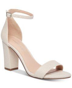 c0e7932a7605 Madden Girl Bella Two-Piece Block Heel Sandals - Gold 7.5M Block Heels