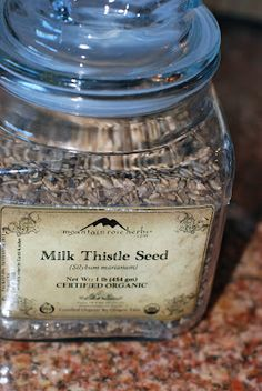 Milk Thistle Seed: The Liver Regenerator. It helps clense your liver and give you more energy. Perfect after a night of too much drinking.