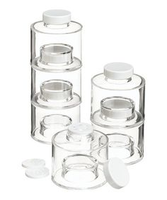 Take a look at this Tower Self-Stacking Spice Bottle - Set of Six by Prodyne on #zulily today!