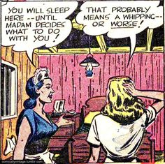 And then there are the panels that are downright raunchy: