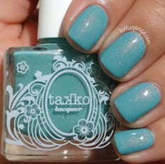 KellieGonzo: Takko Lacquer Jabberwocky and Physical Graffiti Swatches & Review