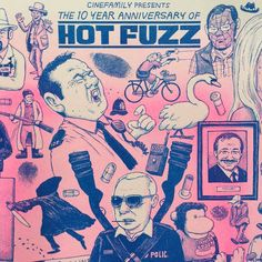 Image of Hot Fuzz poster