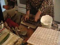 2nd or 3rd, who knows! video in flattening birch bark series.  Nancy Today: Flatten birchbark 8 ASMR Birchbark weaving (basket making tutorial) 'Sounds of Nature' - YouTube