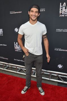 Tyler Posey at an event for Scream: The TV Series (2015)