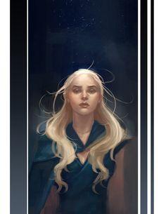 Daenerys Targaryen by sniftpiglet.deviantart.com on @DeviantArt
