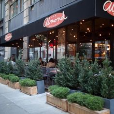 We review Almond NYC in the Flatiron district on it's kid-friendly factors - check it out at www.forkandbib.com