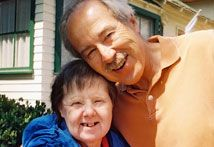 Down Syndrome and Alzheimer's Disease | Signs, Symptoms, & Diagnosis Approximately 75% of those 60 and older with Down Syndrome also have Alzheimer's Disease.