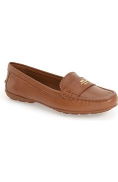 COACH 'Odette' Moccasin Loafer (Women). #coach #shoes #flats