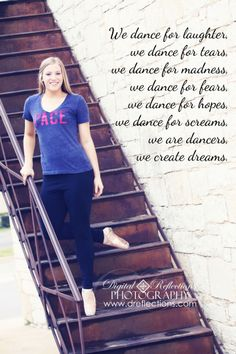 Senior Photo, Dance Quote, Pace University, Heading to NYC, Future Star, She will be famous!