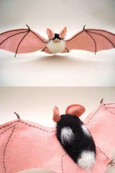Spotted Bat- Euderma maculatum by ~creturfetur on deviantART
