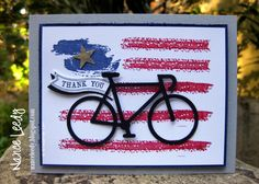 Nancy Lempinen-Leedy: Canopy Crafts – : Annual Veterans Day Poker Run - 11/11/14 (SU - Stamps: Word Art, Blue Ribbon, Memorable Moments, Itty Bitty Banners. Itty Bitty Banner framelits.) (Pin#1: Patriotic... Pin+: Bicycles)