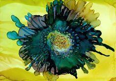 Beth Kluth: Teal Bloom