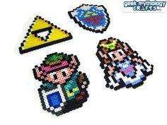 Legend of Zelda Link to the Past Perler by GeekMythologyCrafts, $6.50