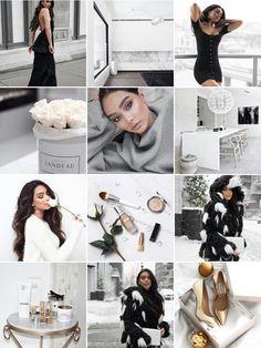 White Feed Instagram, White Instagram Theme, Instagram Feed Ideas Posts, Instagram Feed Goals, Best Instagram Feeds, Instagram Grid, Instagram Pose, Instagram Design, Instagram Feed Theme Layout